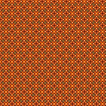 Inspired by Natural Oranges Kaleidoscope Pattern by jacoolda