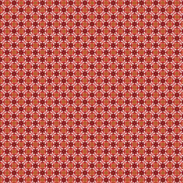 Inspired by Natural Red Berries Kaleidoscope Pattern by jacoolda
