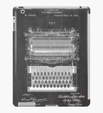 Typewriter Patent iPad Case/Skin