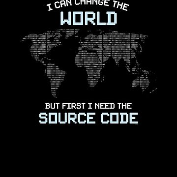 I Need The Source Code by TomGiantDesigns