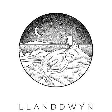 Llanddwyn Island, Anglesey - Wales Dotwork by typelab