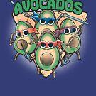 Avocados ninjas by trheewood