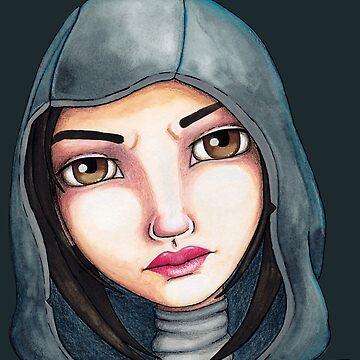 Fate (Watercolor Version) by LittleMissTyne