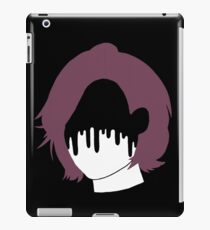 Girl with painted face iPad Case/Skin