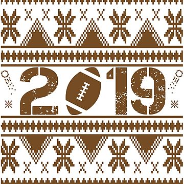 American Football New Year 2019 by iwaygifts