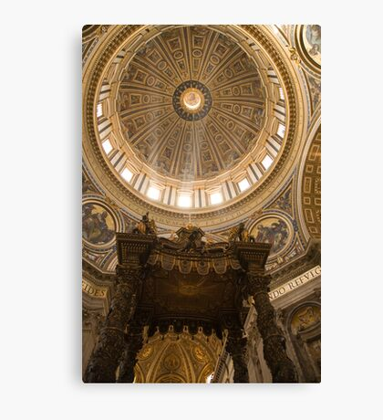 Vatican in Rome, Italy Canvas Print