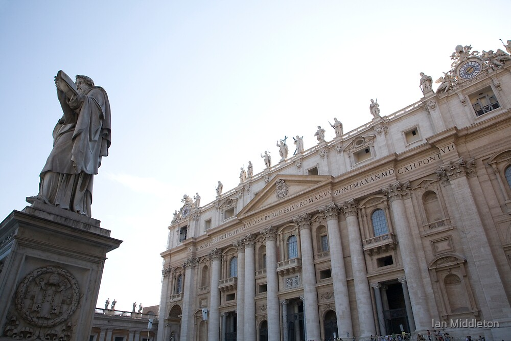 Vatican in Rome, Italy by Ian Middleton