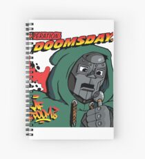 Hop Rock Doom Spiral Notebook