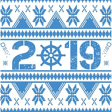 Sailor Wheel New Year 2019 by iwaygifts