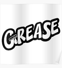Grease is the word Poster