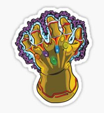 Infinity Gauntlet Sticker