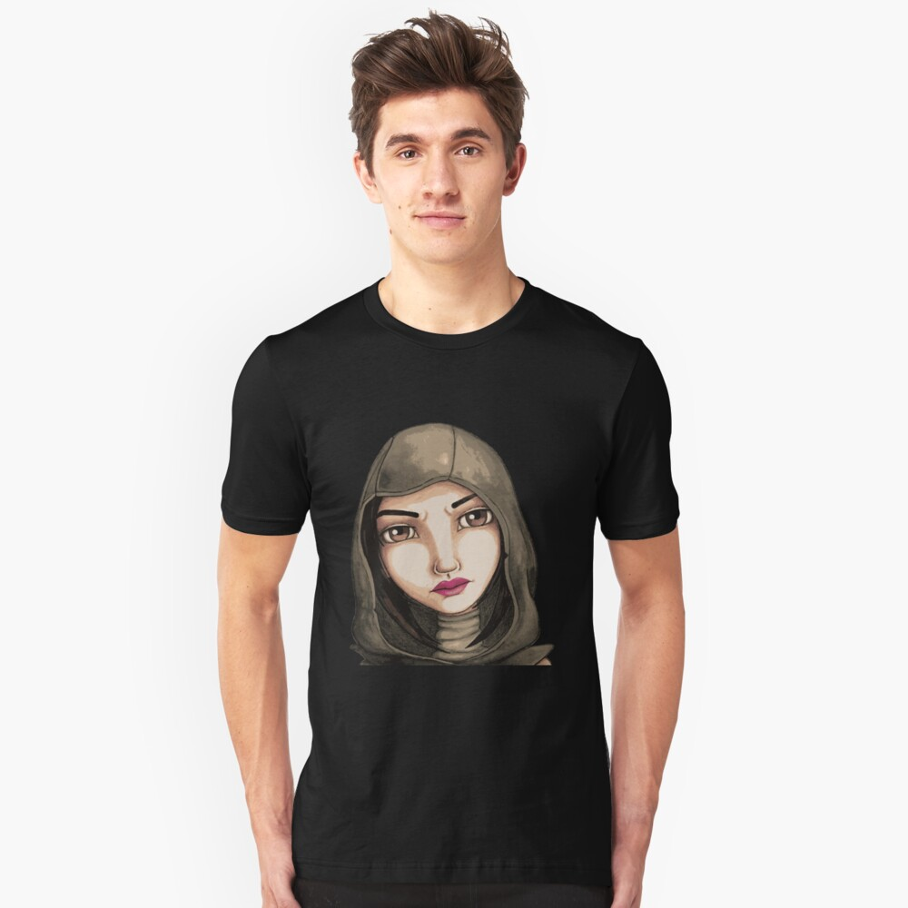 Fate (Digitized Version) Slim Fit T-Shirt