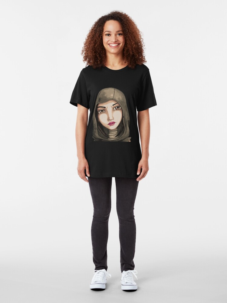 Alternate view of Fate (Digitized Version) Slim Fit T-Shirt
