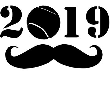 Tennis 2019 New Year by iwaygifts
