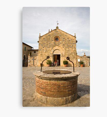monteriggioni, Tuscany, Italy Canvas Print