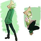Peridot stickers by MariLimmy