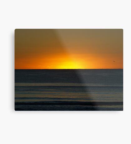 Sunrise Mermaid Beach Metal Print