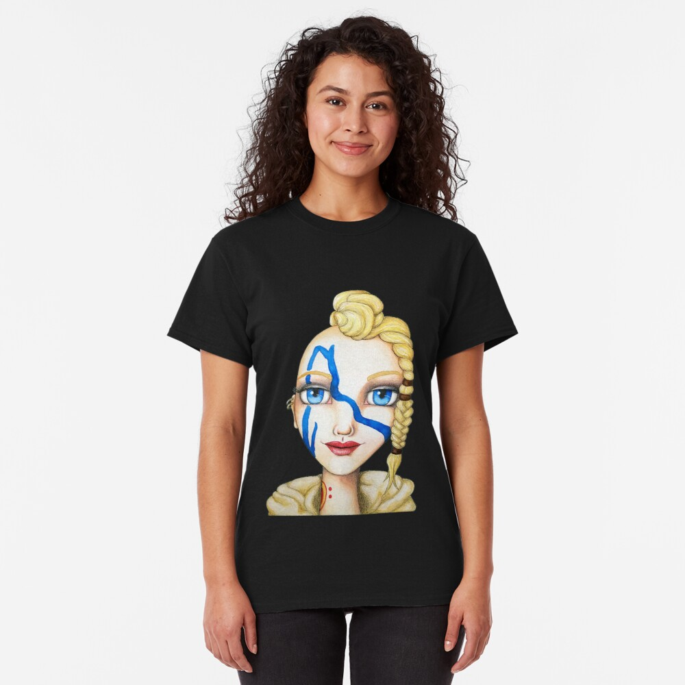 Huntress (Watercolor Version) Classic T-Shirt
