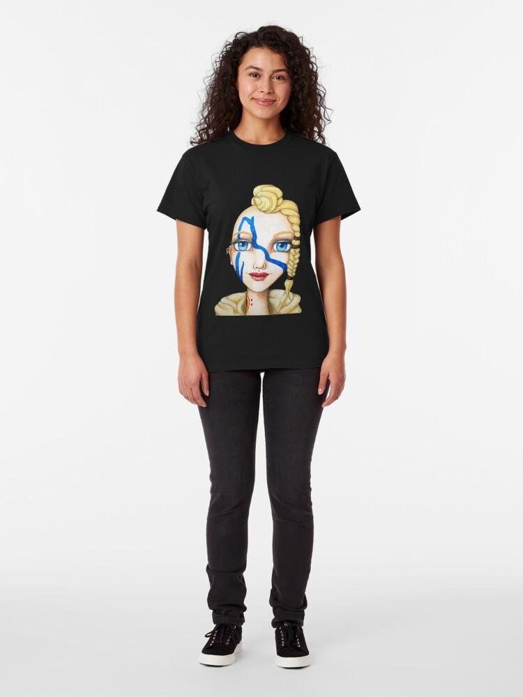 Alternate view of Huntress (Watercolor Version) Classic T-Shirt