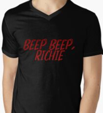 it quote - beep beep, richie V-Neck T-Shirt