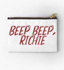 it quote - beep beep, richie Studio Pouch