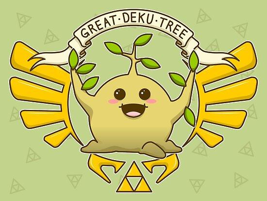 The Wise Deku Tree by TheWhaleBaby