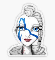 Huntress (Digitized Version) Transparent Sticker