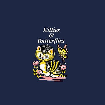 Kitties and butterflies by cbboy