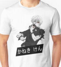 Camiseta ajustada Kaneki Tokyo Ghoul