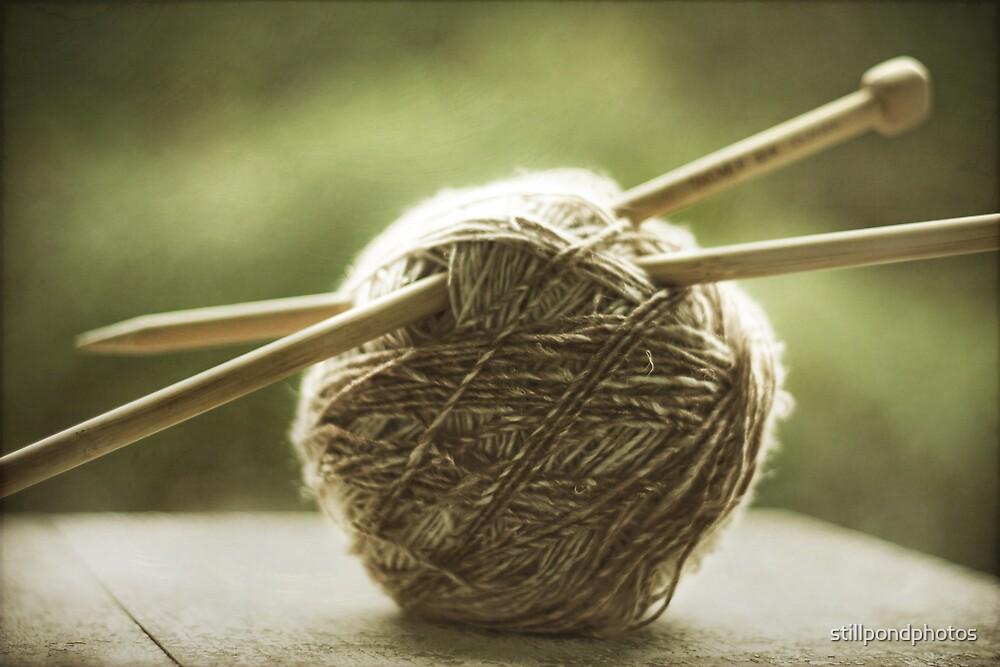 ball of yarn by stillpondphotos