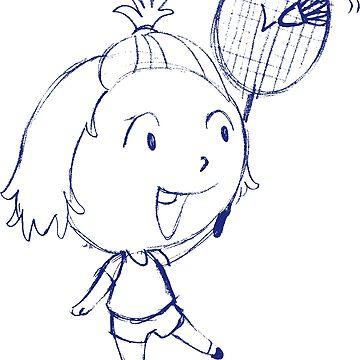 badminton by silemhaf