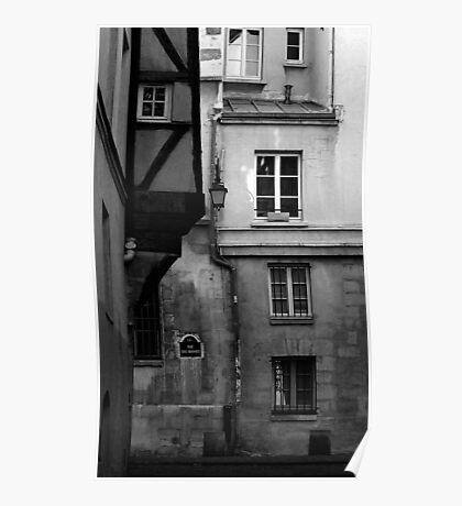 Rue des Barres Poster