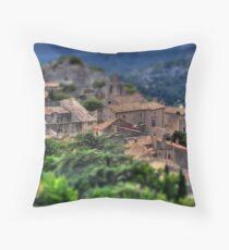 Les Baux-De-Provence Throw Pillow