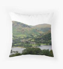 View on Glenridding Ullswater Throw Pillow