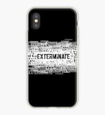 Exterminate 2 iPhone Case
