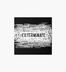 Exterminate 2 Art Board