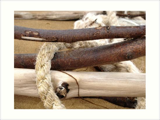 Beach Rope by Jason Dymock Photography