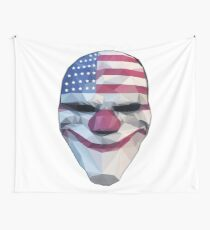 Dallas Mask Payday Wall Tapestry