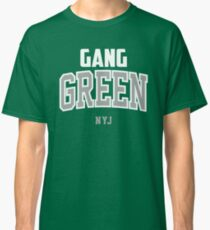 Gang Green, New York Football, Jet Classic T-Shirt