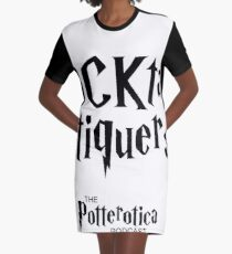 Cocktail Critiquers  Graphic T-Shirt Dress
