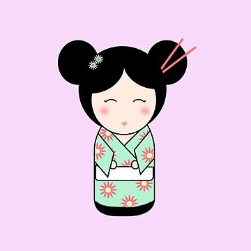 Kokeshi Doll by valleone
