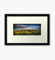 Toward Malvern Framed Print