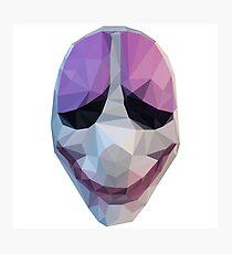 Lámina fotográfica Houston Mask Payday