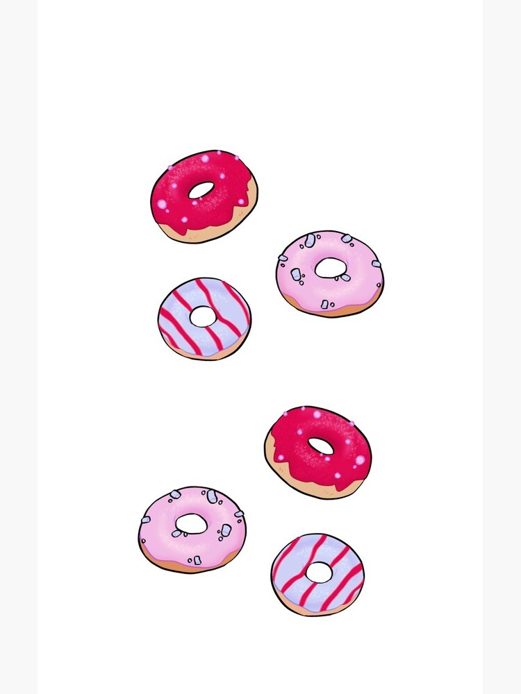 Colorful Doughnuts by AngiiArt