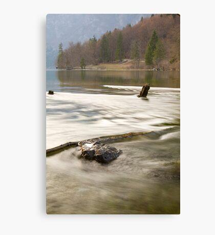 Bohinj Lake, Slovenia Canvas Print
