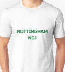 """Nottingham NG1"" original gift design Unisex T-Shirt"