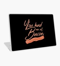 You Had Me at Bacon Lover Brunch Breakfast Laptop Skin