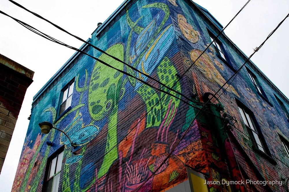 Graffiti Alley Toronto 3 by Jason Dymock Photography