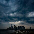 Little Manhattan Under A Dark Cloud by Chris Lord