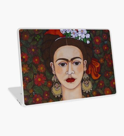 I am Obsessed with Frida T-shirt Laptop Skin